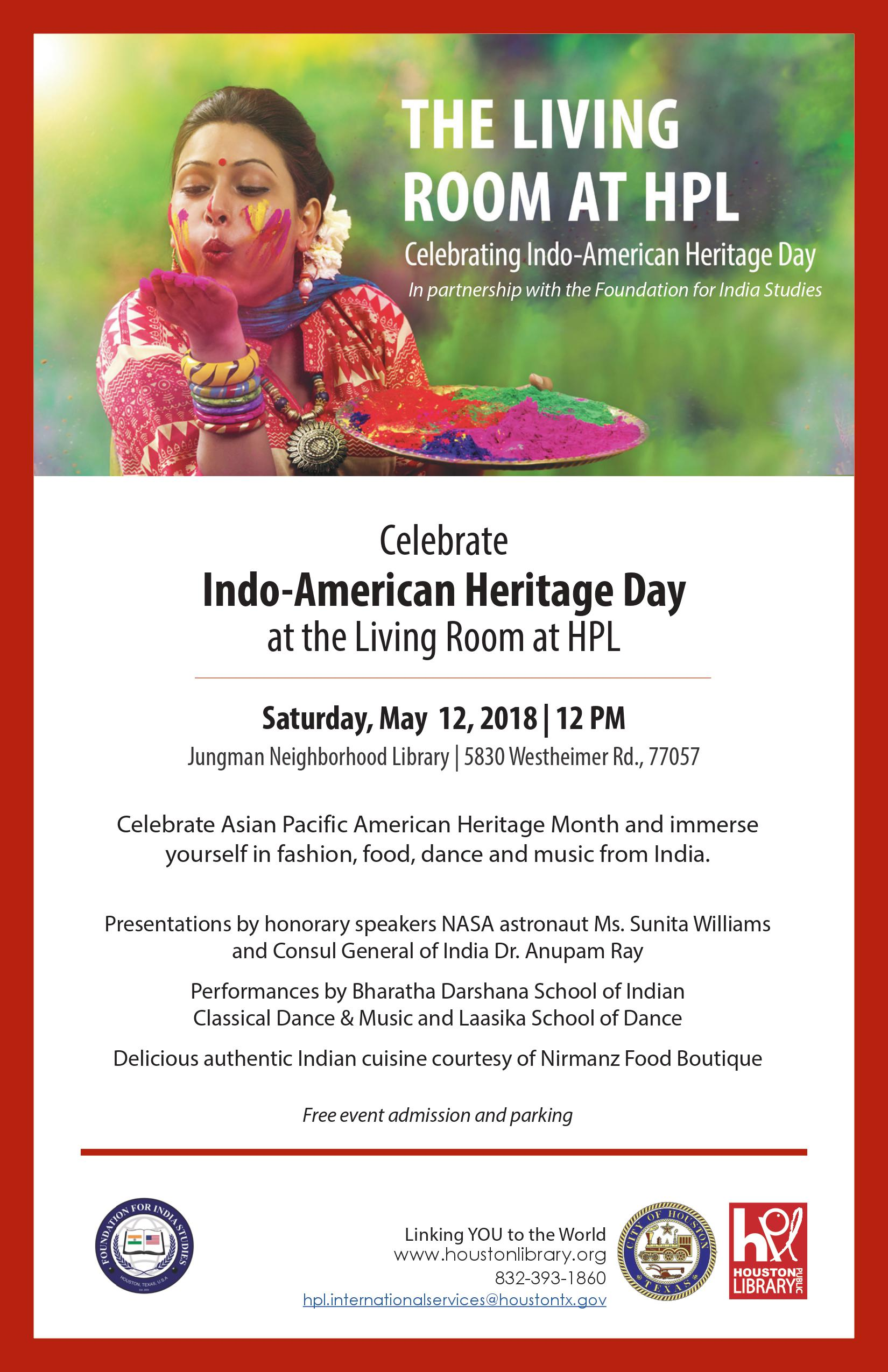 You are cordially invited to attend this FIS-HPL event.  when the Indo-American
